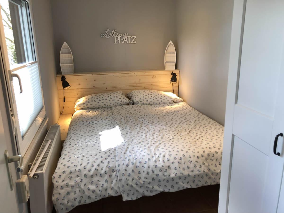 Ferienhaus bilder for Doppelbett kleines zimmer
